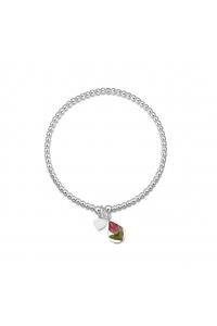 0b9a5c0e8 Strieborné šperky z reálnych kvietkov - Kolekcia RUŽE